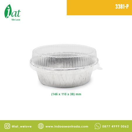 Aluminiun Tray STAR No.3381-P (400 ml) 2 3381_p1