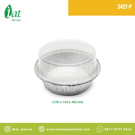 Aluminiun Tray STAR No.3427-P (700 ml)<br> 3 3427_p2