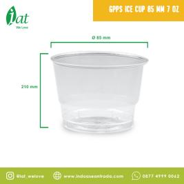 GPPS Ice Cup 7 oz D85 mm  210 ml