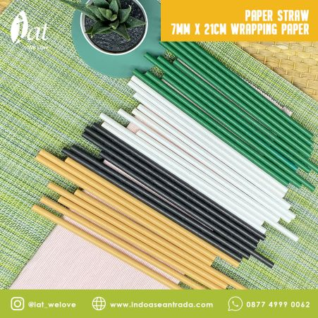 Eco Friendly Materials Paper Straw 7MM X 21CM Wrapping Paper 1 paper_straw_sharp_7mm_x_21cm_wrapping_paper__color