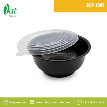 Take away dishes PP Lid for Soup Bowl 2 soup_bowl